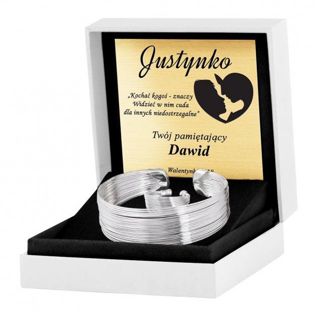 Komplet Biżuterii 925 Silver Layered