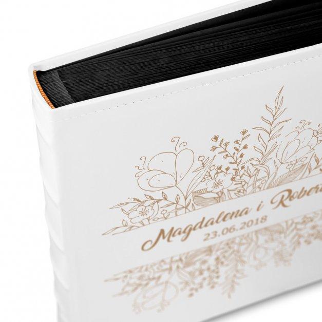 Album Kwiatowy GRAWER Upominek Dla Pary
