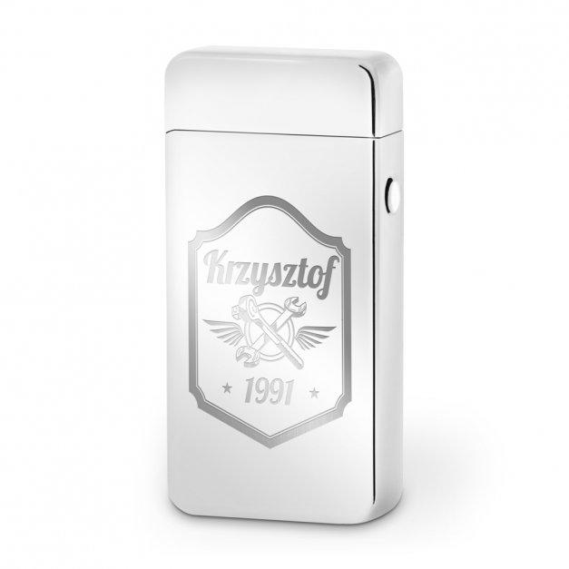 Zapalniczka Plazmowa USB z GRAWEREM MOTO