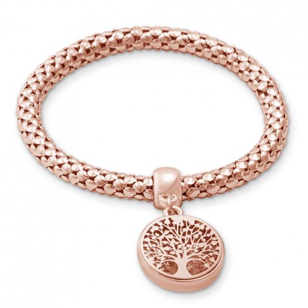 d7581d88283f09 Bransoletka Drzewko - kolor różowe złoto | MURRANO