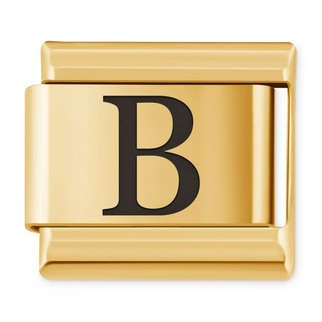 """ITALIAN CHARMS Litera """"B"""""""