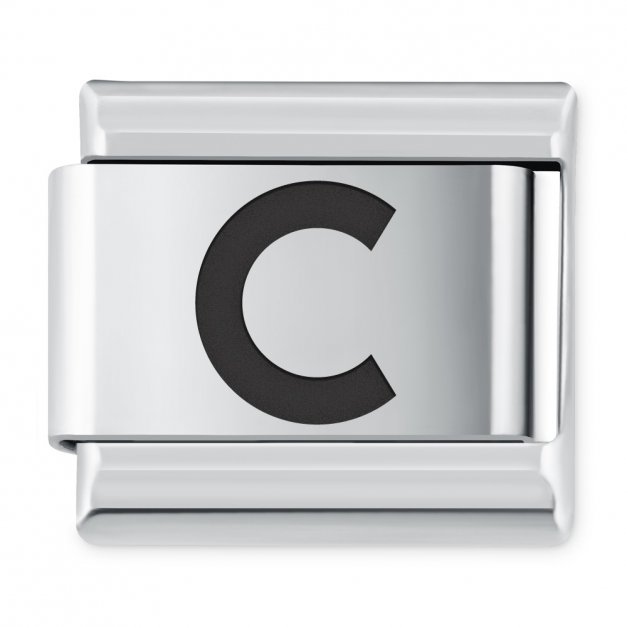 "ITALIAN CHARMS Litera ""C"""