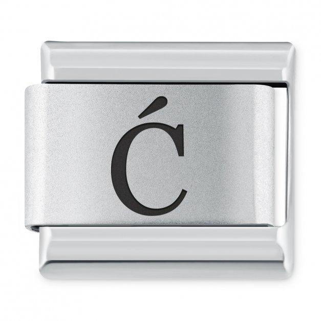 """ITALIAN CHARMS Litera """"Ć"""""""