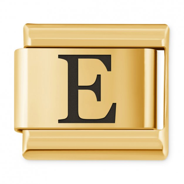 "ITALIAN CHARMS Litera ""E"""