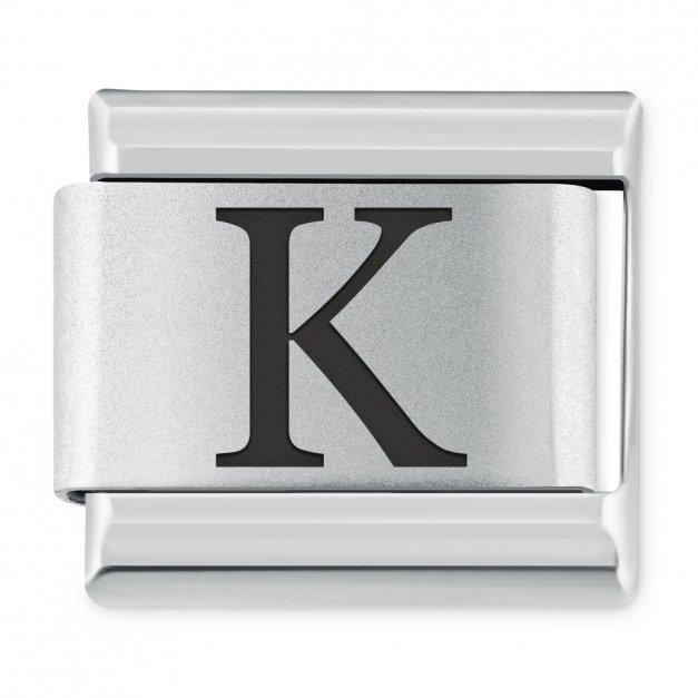 "ITALIAN CHARMS Litera ""K"""