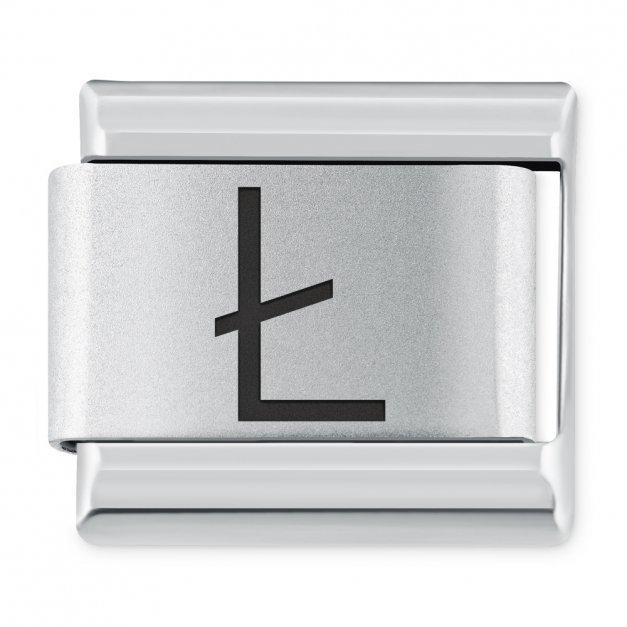 "ITALIAN CHARMS Litera ""Ł"""
