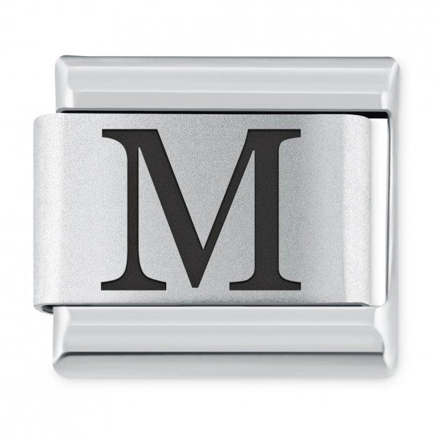 "ITALIAN CHARMS Litera ""M"""