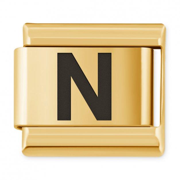 "ITALIAN CHARMS Litera ""N"""