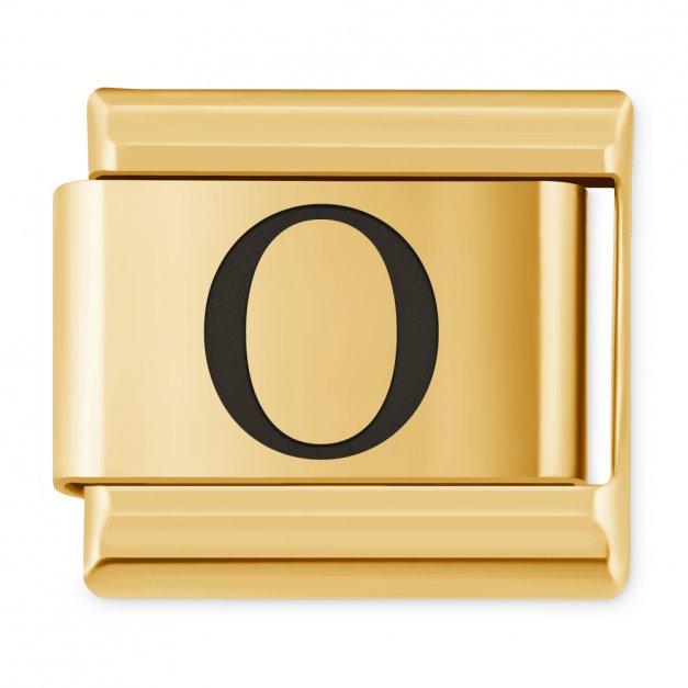 "ITALIAN CHARMS Litera ""O"""