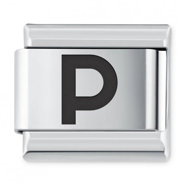 "ITALIAN CHARMS Litera ""P"""