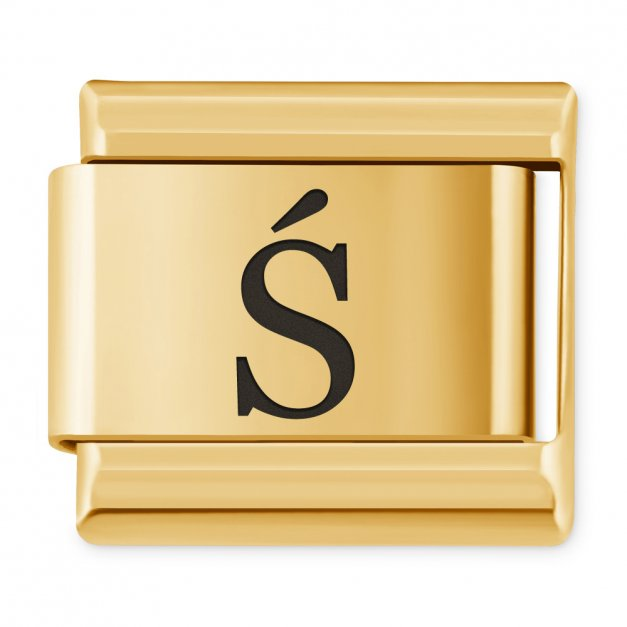 "ITALIAN CHARMS Litera ""Ś"""