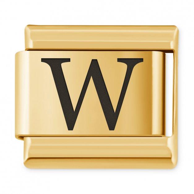 "ITALIAN CHARMS Litera ""W"""