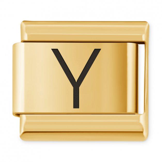 "ITALIAN CHARMS Litera ""Y"""