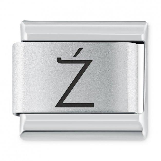 """ITALIAN CHARMS Litera """"Ź"""""""