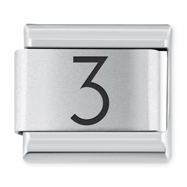 "ITALIAN CHARMS Cyfra ""3"""
