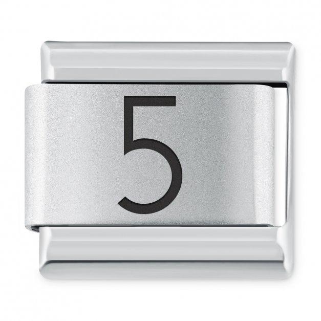 "ITALIAN CHARMS Cyfra ""5"""