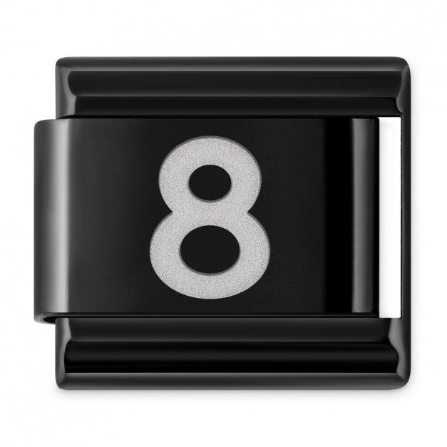 "ITALIAN CHARMS Cyfra ""8"""