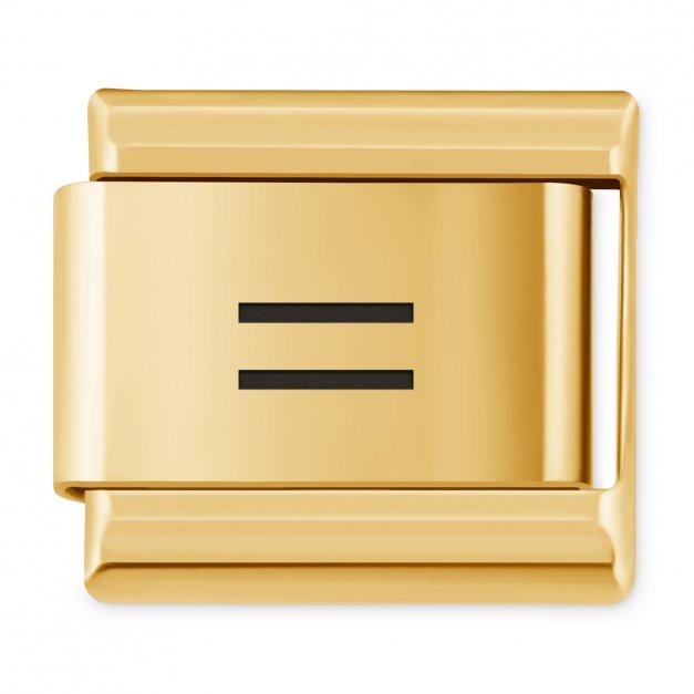 """ITALIAN CHARMS Znak """"równa się"""""""