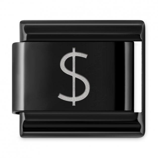 """ITALIAN CHARMS Znak """"dolar"""""""