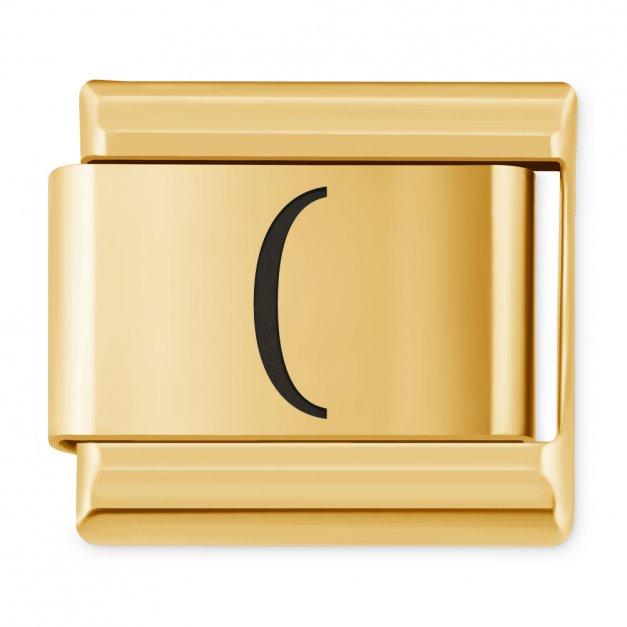 """ITALIAN CHARMS Znak """"nawias otwierający"""""""