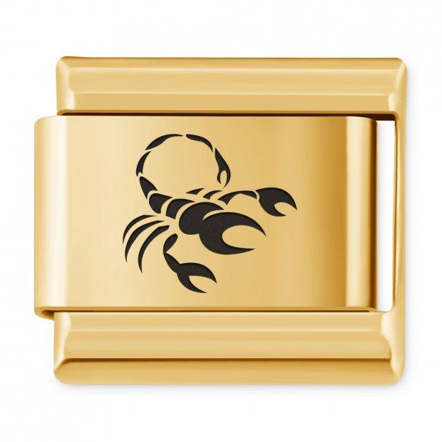 ITALIAN CHARMS Znak zodiaku Skorpion