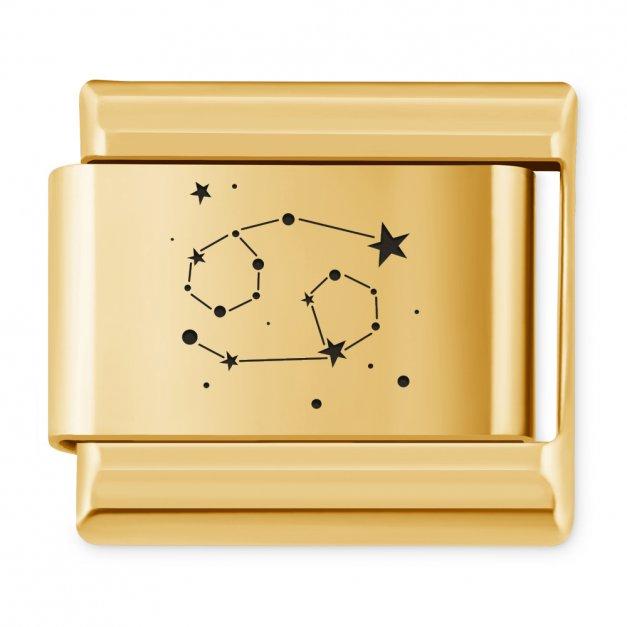 ITALIAN CHARMS Znak zodiaku konstylacje Rak