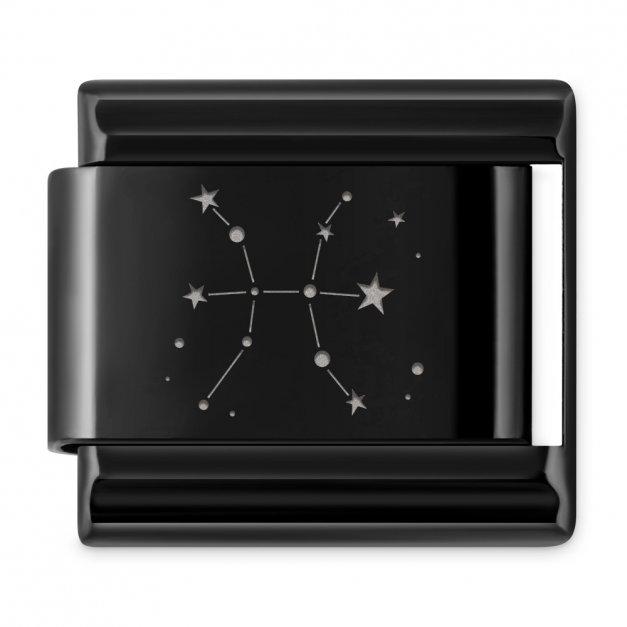 ITALIAN CHARMS Znak zodiaku konstylacje Ryby