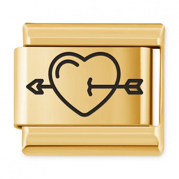 ITALIAN CHARMS Symbole Miłosne Serce