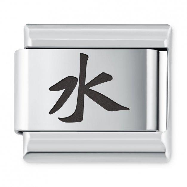 ITALIAN CHARMS Symbole Chińskie Woda