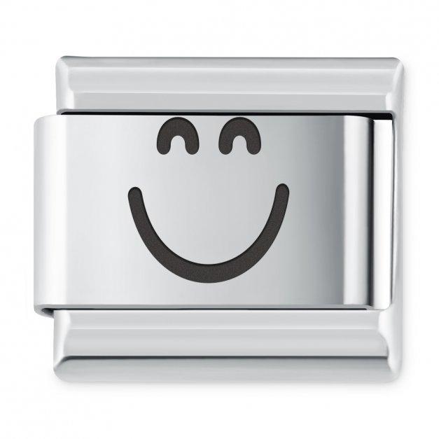 ITALIAN CHARMS Symbole Emocje Buźka Radość