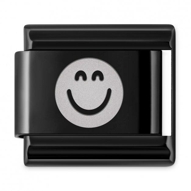 ITALIAN CHARMS Symbole Emocje Emotka Radość