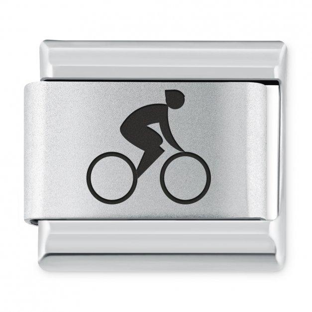 ITALIAN CHARMS Symbole Sportowe Jazda Na Rowerze