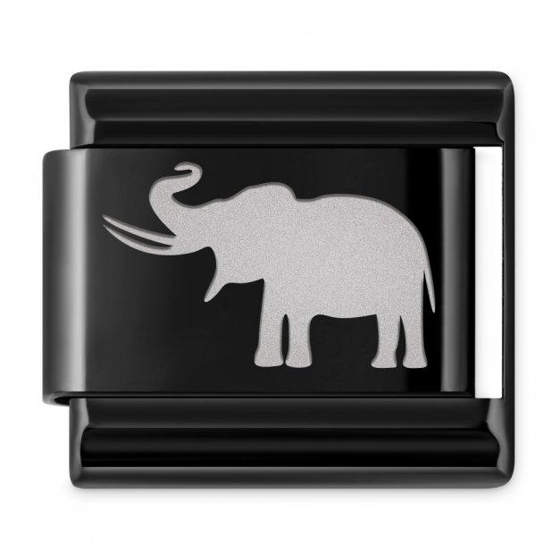 ITALIAN CHARMS Symbole Zwierzęta Słoń