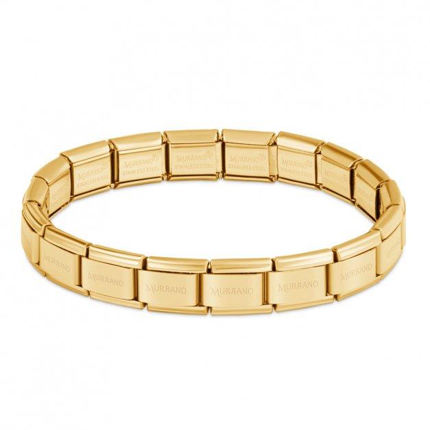 Bransoletka Bazowa ITALIAN CHARMS Gold Plating 17cm