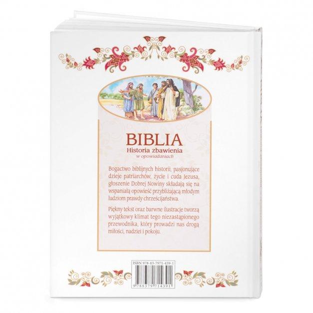 Biblia Dla Dzieci Historia Zbawienia Z  Etui Grawer
