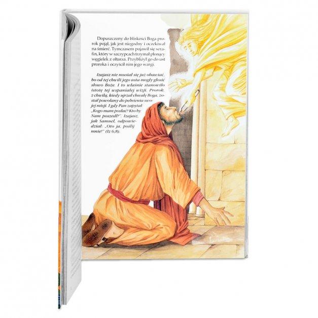 Prezent na komunię Historia zbawienia w etui