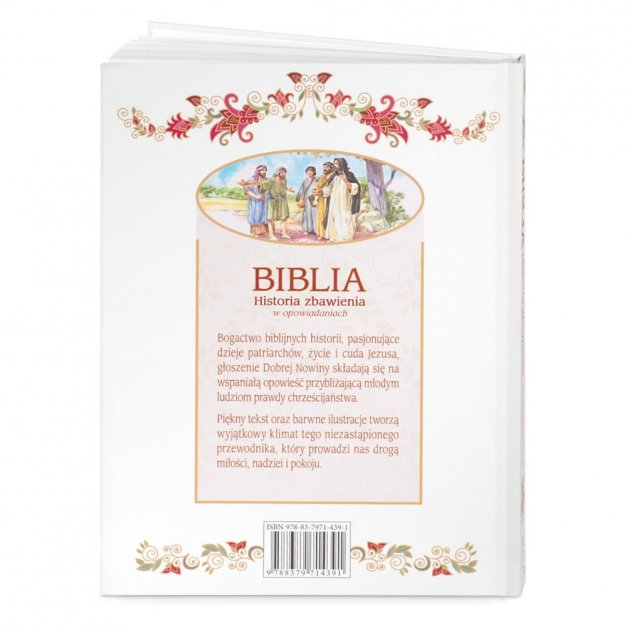 Biblia Dla Dzieci Z Drewnianym Etui Nadruk Modlitwa