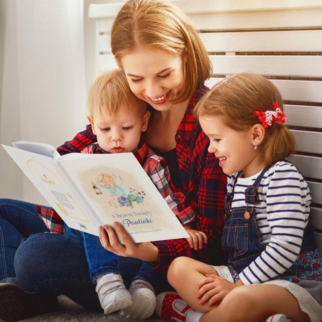Biblia Dla Dzieci A4 Nadruk Anioł Stróż