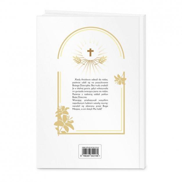 Biblia Dla Dzieci A4 Nadruk Gołąbek Chrzciny