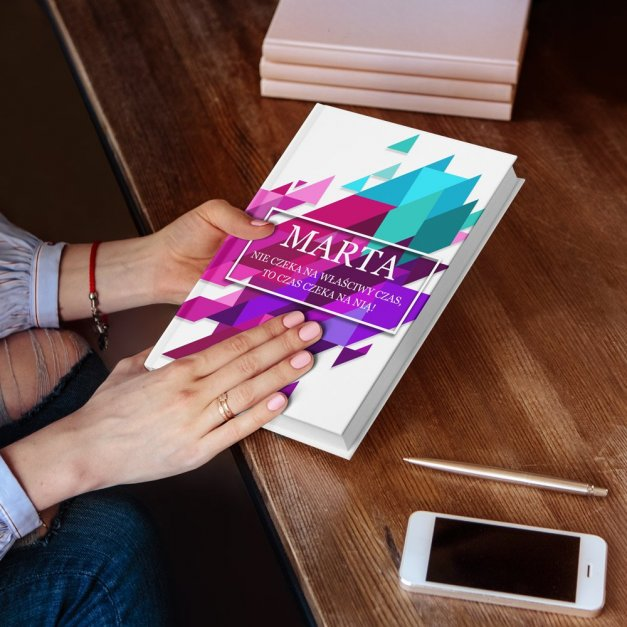 Planer Kalendarz Książkowy z Nadrukiem Kolor Art