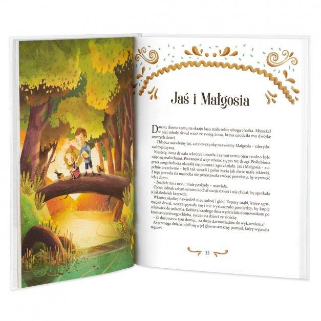 Księga Baśni Dla Dzieci z Nadrukiem Na Dobranoc