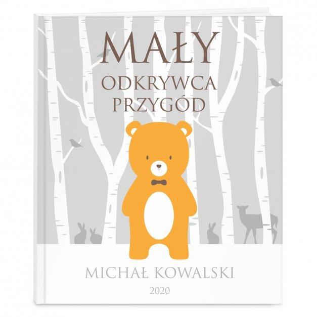 Księga Baśni Dla Dzieci z Nadrukiem Niedźwiadek