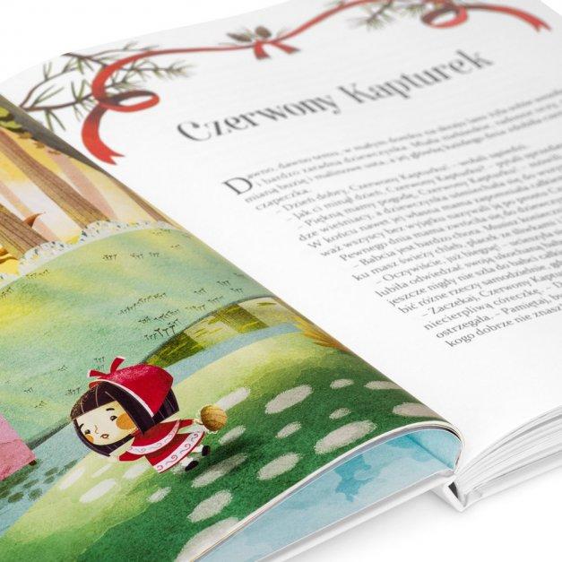 Księga Baśni Dla Dzieci z Nadrukiem Kolorowy Świat