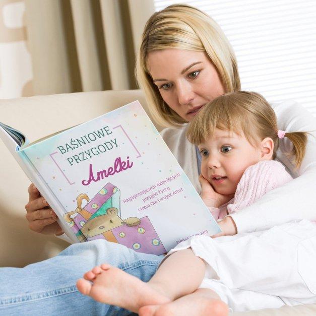 Księga Baśni Dla Dzieci z Nadrukiem Baśniowe Przygody