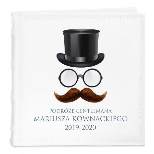 Album Na Zdjęcia Podróże Gentlemana Nadruk