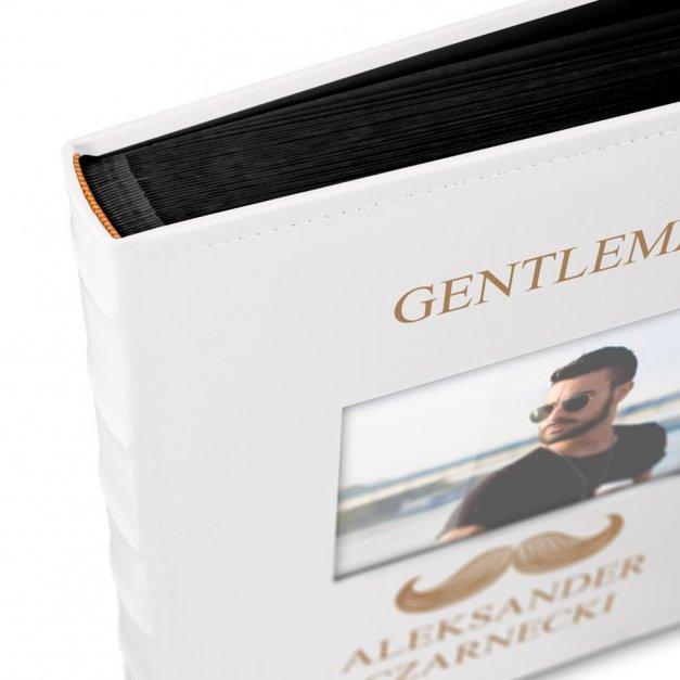 Album z Okienkiem Gentleman Prezent dla Niego Grawer