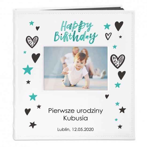 Album z Okienkiem Prezent Na Urodziny Nadruk Dla Dziecka