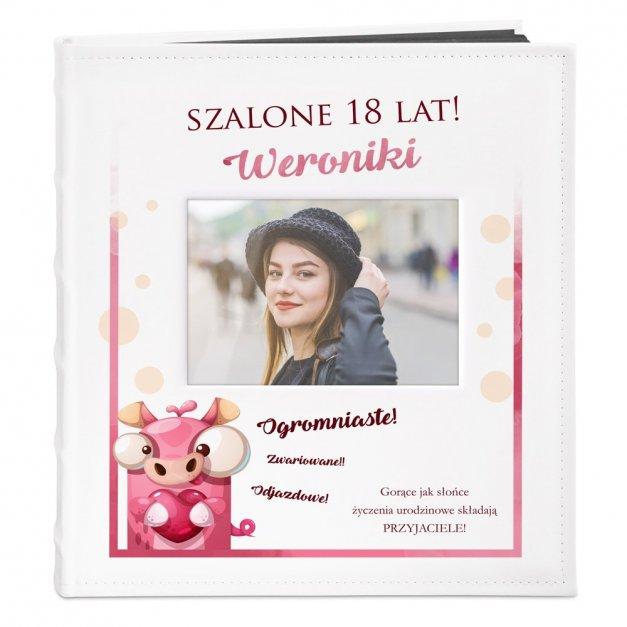 Album z Okienkiem Prezent Nadruk Szalona Osiemnastka
