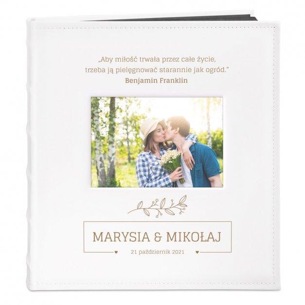 Album z Okienkiem Prezent Dla Pary Grawer Miłość