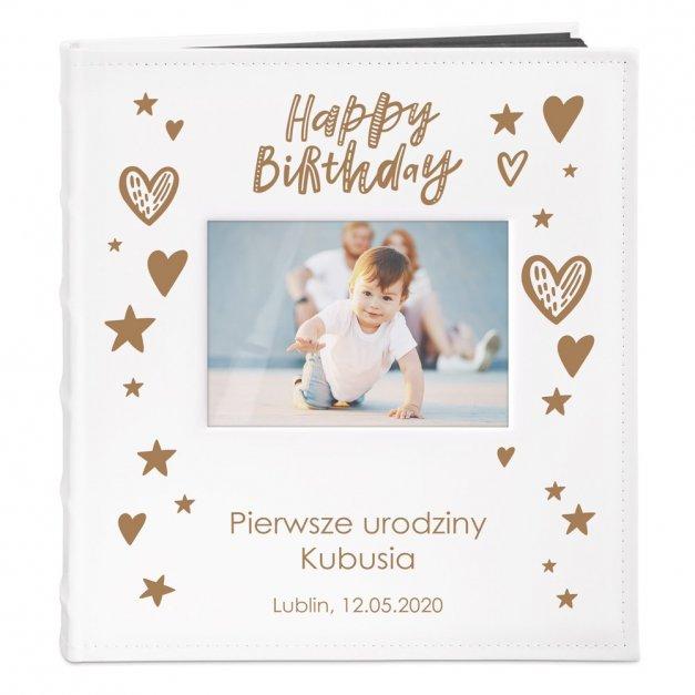 Album z Okienkiem Prezent Na Urodziny Dla Dziecka Grawer